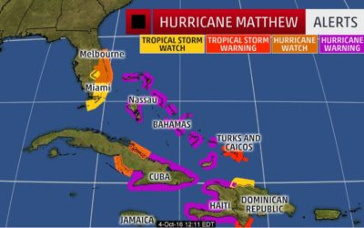 Hurricane Matthew Alert – Letter from Flagship's CEO