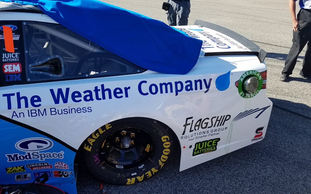 In collaboration with Flagship Solutions Group, The Weather Company will provide critical weather information to NASCAR.